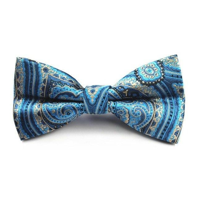 New Design Plaid Bow Tie Mens Necktie For Wedding Pajaritas Dressdresskily-dresskily