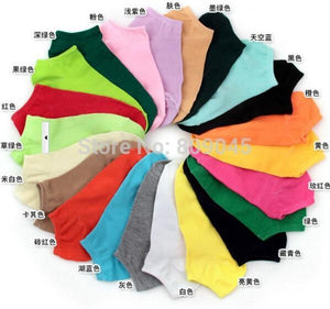 summer comfortable cotton bamboo fiber girl women's socks ankle low female invisibledresskily-dresskily