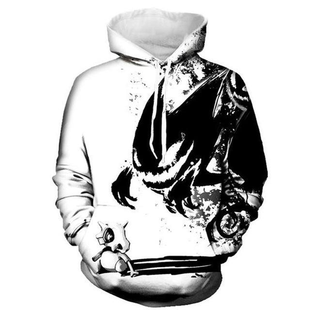 Mr.1991INC New Fashion Sweatshirts Men/Women 3d Hoodies Print Ink Skulls And Smalldresskily-dresskily