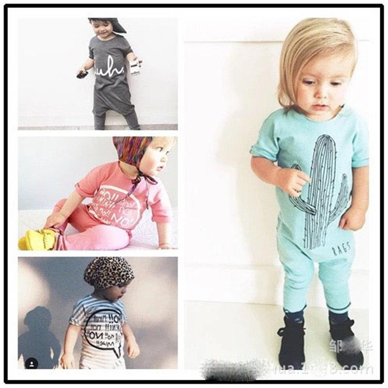 BR103 Toddler Baby Rompers Summer Baby Boy Clothes Roupa Bebes Newborn Babydresskily-dresskily