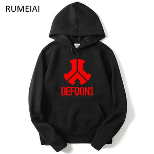 RUMEIA New Fashion Defqon 1 Rock Band Hip Hop Men Hoodies Anddresskily-dresskily