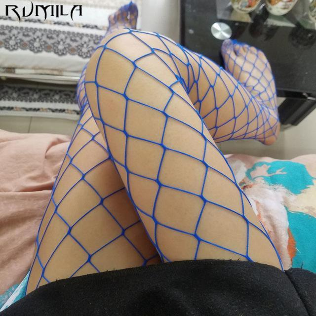 Summer Sexy Nylon Small Mesh Pantyhose Women's Fashion Solid Color Tights Femaledresskily-dresskily