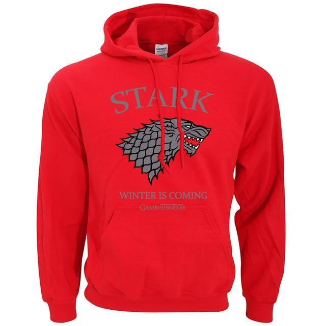House Stark Winter Is Coming Game of Thrones Hoodies Men 2017 Springdresskily-dresskily