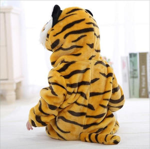 Baby rompers boys girls clothes Tiger Cartoon Jumpsuit ropa bebe tigre Pajamasdresskily-dresskily