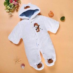 New Autumn Winter baby thick cotton the climb clothes children Coral fleecedresskily-dresskily