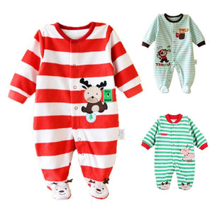 Baby Rompers Spring Baby Boy Clothes Newborn Baby Clothes Cotton Baby Girldresskily-dresskily