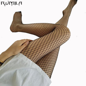 RED medium grid SEXY women high waist stocking fishnet club tights pantydresskily-dresskily