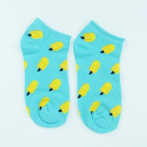 New Cute fruit color love candy color cotton sock summer style womendresskily-dresskily