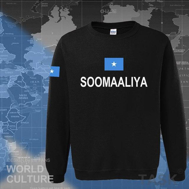 Somalia Somali t hoodies men sweatshirt polo sweat new hip hop streetweardresskily-dresskily