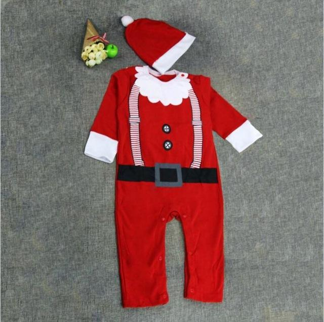 christmas Baby rompers costumes for boys santa claus baby outfits babydresskily-dresskily