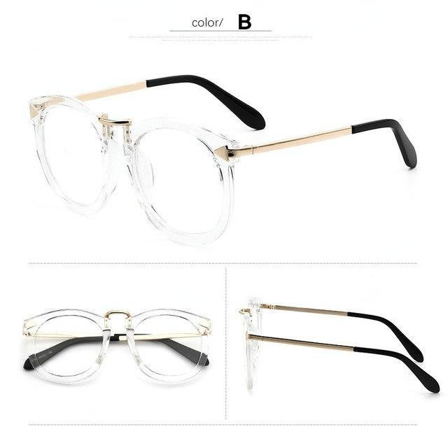 Vintage Decoration Optical Eyeglasses Frame myopia metal men women unisex spectacles eyedresskily-dresskily