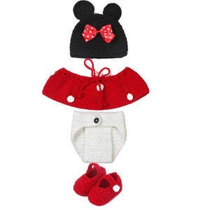 Handmade Knitting Baby Clothing Sets Boy Girl Knitted Clothes Infant Photography Propsdresskily-dresskily