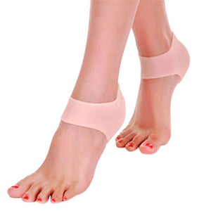 Hot 2017 Women Silicone Moisturizing Gel Heel Socks Like Cracked Foot Skindresskily-dresskily