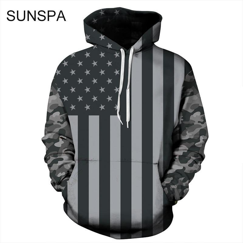 3D Printing Sweatshirts Hooded Men/Women Hoodies With Hat Galaxy Space Stardresskily-dresskily