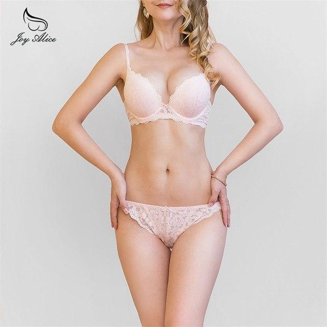 New Europe push up bra women Girl lace bra set gatherdresskily-dresskily