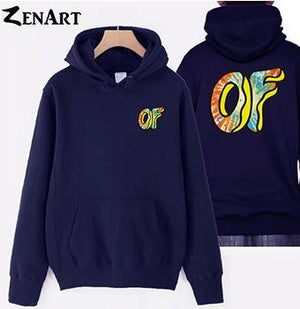 coloful Donut front small logo back large logo Awesome Odd Future Sprinkledresskily-dresskily