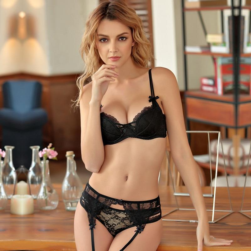 sexy push up bra set Women's underwear Sexy lingerie set Strapsdresskily-dresskily