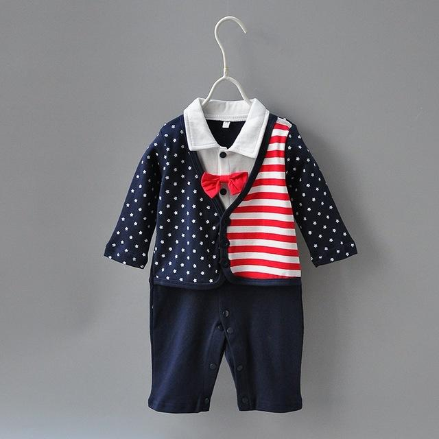 newborn Kids boys romper Baby boy clothes fashion toddler baby outfit ,dresskily-dresskily