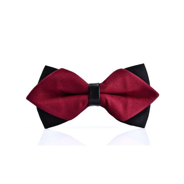 newest butterfly knot men's accessories bow tie black red cravat formal commercialdresskily-dresskily