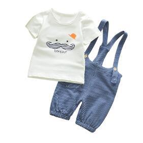 Summer Baby Boys Clothes Set Cartoon Toddler Baby Infant Girls Outfitsdresskily-dresskily