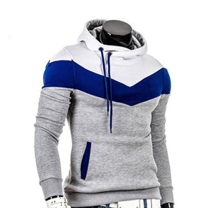 Fashionable Men Hooded Leisure Casual Hoodie With a Soft Fluff anddresskily-dresskily