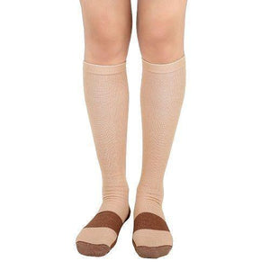 S-XXL Autumn Hirigin Men's Women's Copper Infused Compression Knee 3 Colors Socksdresskily-dresskily