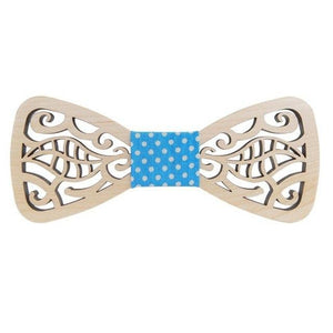 New Fashionable Hollow Wood Bow Ties for Men Wedding Suits Wooden Bowdresskily-dresskily
