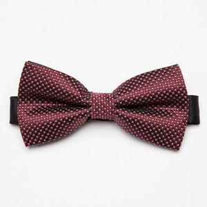 Men's Bow Tie formal necktie boy Fashion business wedding Polyester Bowtie Maledresskily-dresskily