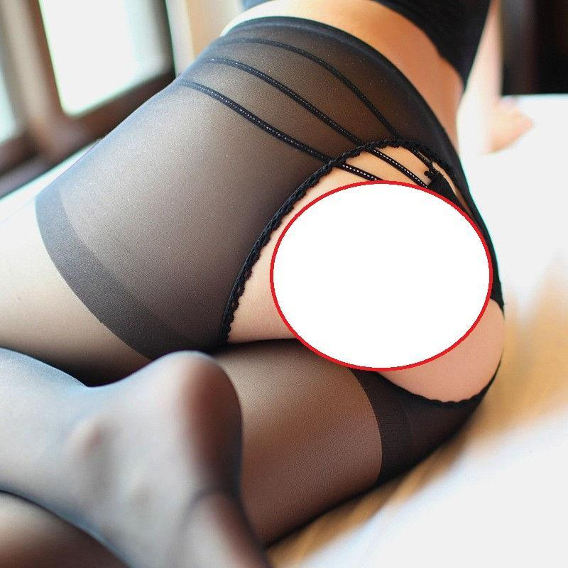 2017 Sexy body Women delight Open Crotch tights top lady Sexy Nylondresskily-dresskily
