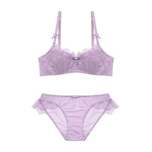 2018 Sexy Women Lace Lingerie Bra Set Push Up Bras Anddresskily-dresskily