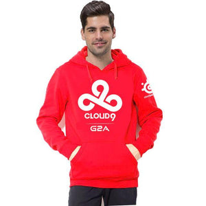 DoTA 2 C9 CLOUD9 Team Hoodies Men Casual Fleece Autumn Winter Sweatshirtdresskily-dresskily