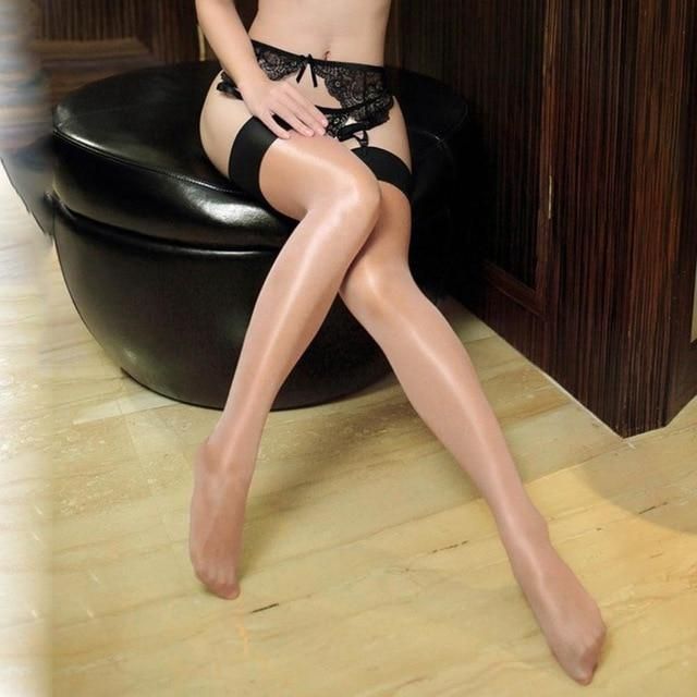 New Sexy Multicolor Color Stockings with 13cm Rib Top for Women Oildresskily-dresskily