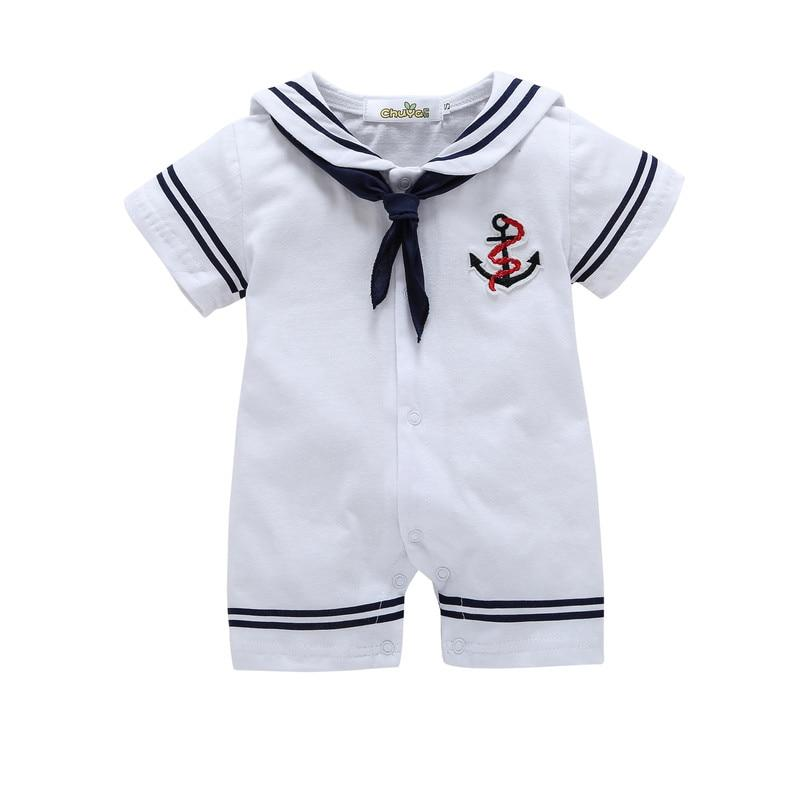 2018 Limited Direct Selling Summer Newborn Baby Clothes Spring Cotton Rompers Boydresskily-dresskily