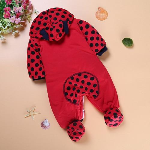 Winter Baby Rompers Boy Girl Coat Parkas Suit Children Clothing Romper Newborndresskily-dresskily