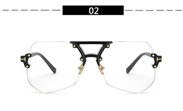 High Quality Frame Fashion Glasses Women Eyeglasses frame Vintage Clear Lensdresskily-dresskily