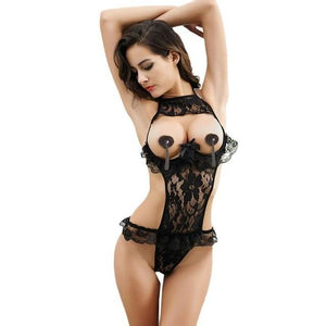 New Women Sexy Female Temptation Transparent Lace Underwear biancheria intima sexy Dropdresskily-dresskily