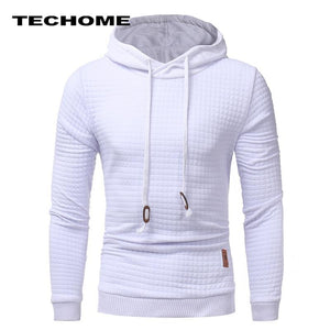 Hoodies Men Brand Male Hip Hop Long Sleeve Solid Color Hooded Sweatshirtdresskily-dresskily