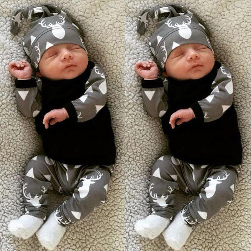 2018 autumn style Newborn Infant Baby Boys Clothes Long sleeve baby romperdresskily-dresskily
