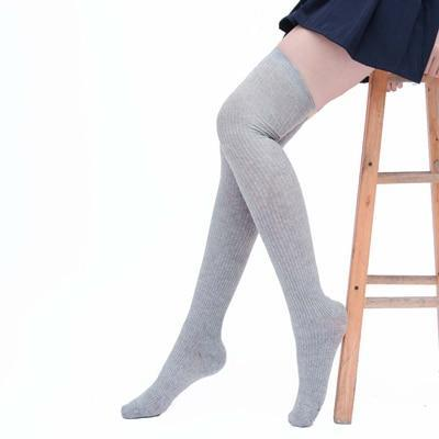 Sexy Warm Long Cotton Stocking Over Knee Stocking Women Winter Knee Highdresskily-dresskily