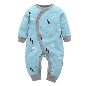 newborn baby clothes 2018 new Long sleeve 100% cotton cute bear onedresskily-dresskily
