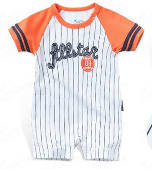 2018 summer Sports costume romper for baby boy clothes newborn -24M babydresskily-dresskily