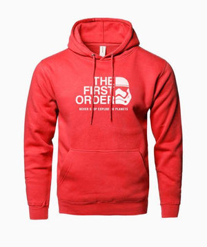 The First Order Print Hoodie Men 2018 Hot Fleece Sweatshirts Hip Hopdresskily-dresskily
