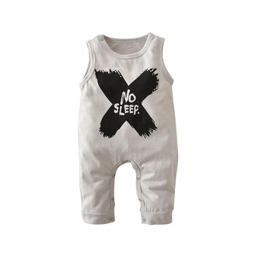 2018 Hot selling Baby Boys Girls Rompers Summer Clothes Sleeveless NO SLEEPdresskily-dresskily