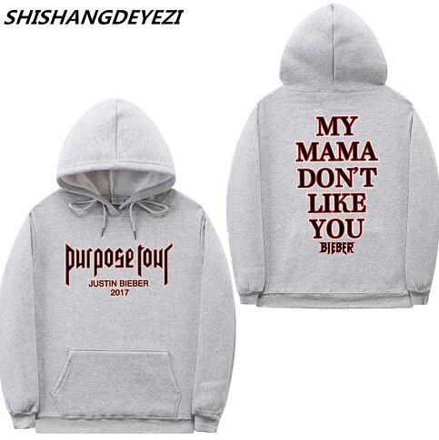 New design purpose tour Justin Bieber hoodies men Women Sweatshirt Kanye Westdresskily-dresskily
