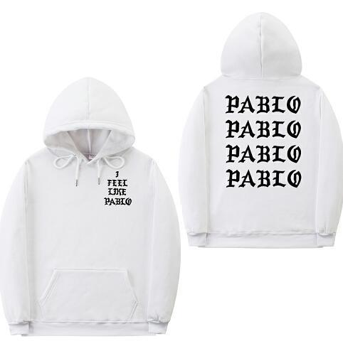 Fashion off white sweatshirts men funny letter hoodies i feel like pablodresskily-dresskily