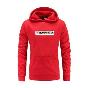 Men Hipster Brazzers Lertter Print Sweatshirts Men Funny Solid Cottondresskily-dresskily