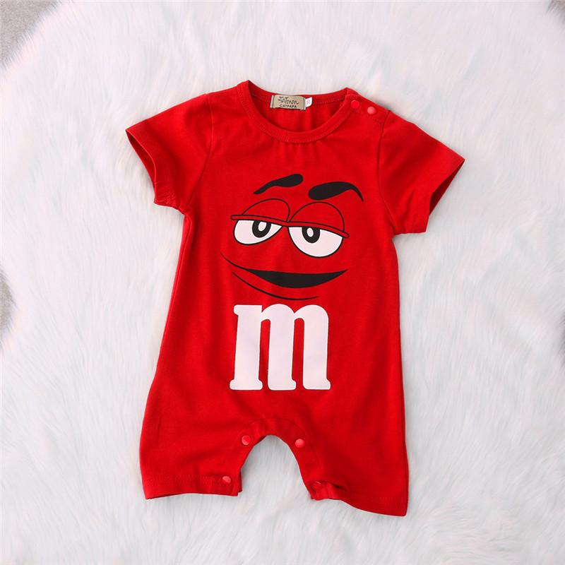 New Infant Cartoon Summer Clothes Baby Girl Boy Romper Jumpsuit Outfits Costumedresskily-dresskily