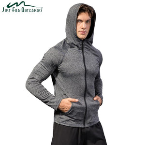 2018 New Fashion brand Spring Autumn Hoodie Streetwear Men Casual Quick Drydresskily-dresskily