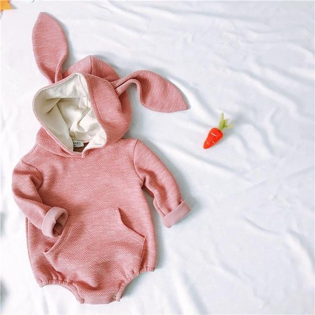 Baby Rabbit Stereoscopic Shape Of Children's Conjoined Clothes Baby Girldresskily-dresskily