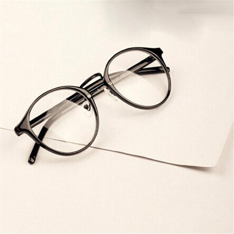 2018 Fashion Men Women Retro Glasses Clear Lens Eyewear Unisex Eyeglasses Spectaclesdresskily-dresskily